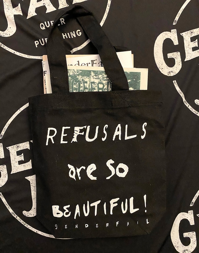 REFUSALS ARE SO BEAUTIFUL / REFUSALS ARE SO POWERFUL Mini Tote