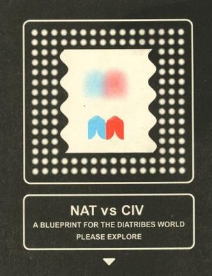 NAT vs CIV: A Blueprint for the Diatribes World Please Explore