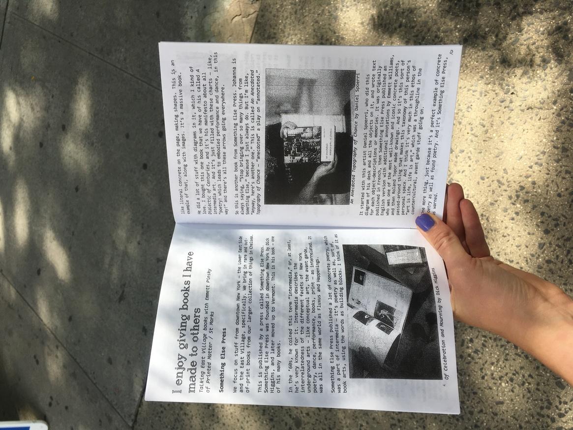 East Village Fanzine thumbnail 4