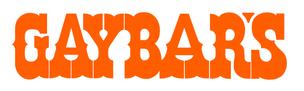 GAYBAR'S Sticker