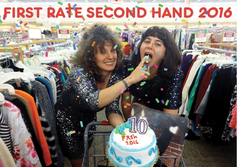 Launch and signing of First Rate Second Hand 2016 at NY Art Book Fair