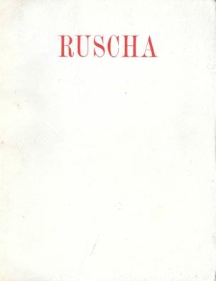 Ruscha: Romance with Liquids