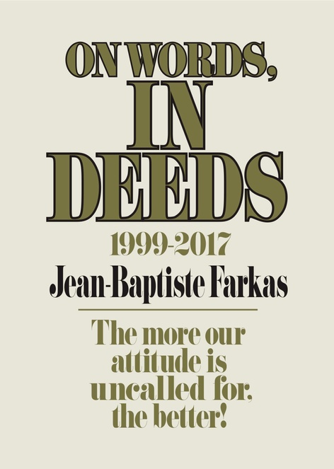 On Words, In Deeds by Jean-Baptiste Farkas