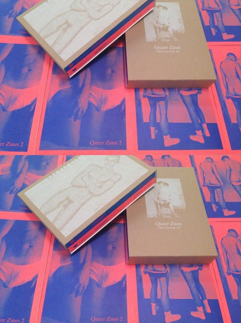 QUEER ZINES 2 & QUEER ZINES boxed set // Publication Launch Party