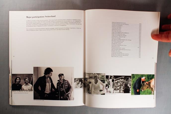Hello Ringier : Ringier Annual Report 2002