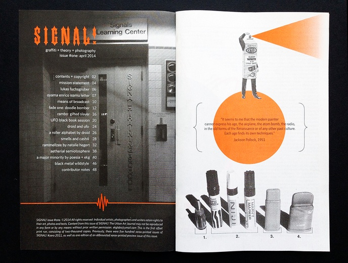 Daniel Feral - SIGNAL! - Printed Matter