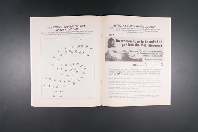 The Guerrilla Girls' Art Museum Activity Book thumbnail 5