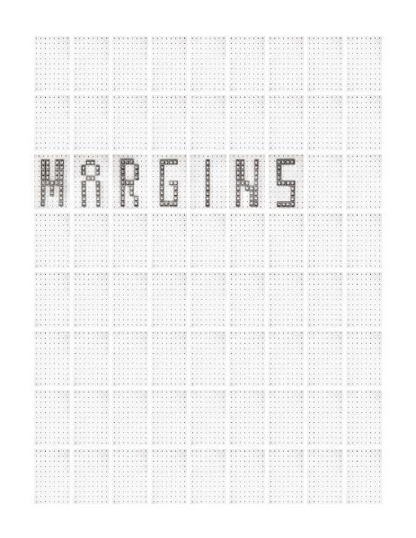 Today Is Today Is Today Is Today : Margins, 2012