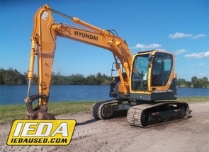 Used 2012 Hyundai ROBEX 145 LCR-9 For Sale