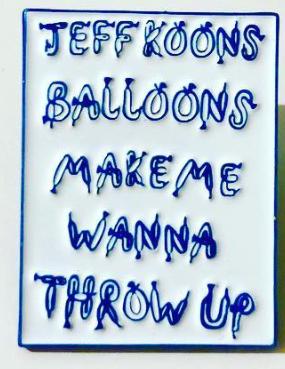 Koons Balloons Pin