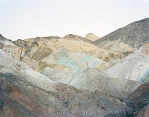 Self-Portrait as Golden (Death Valley CA), 2013