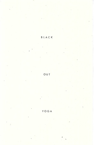 Black Out Yoga