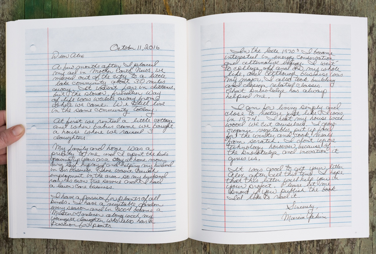 The Positions and Situations Project: Back-to-the-land Letters, Volume 2: 1974-1975 thumbnail 6