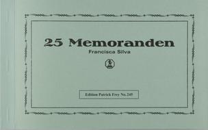 25 Memoranden