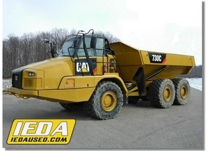 Used 2015 Caterpillar 730C For Sale