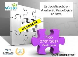 Especialização em Avaliação Psicológica (Pós-Graduação Lato Sensu)