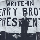 Write-in Jerry Brown President