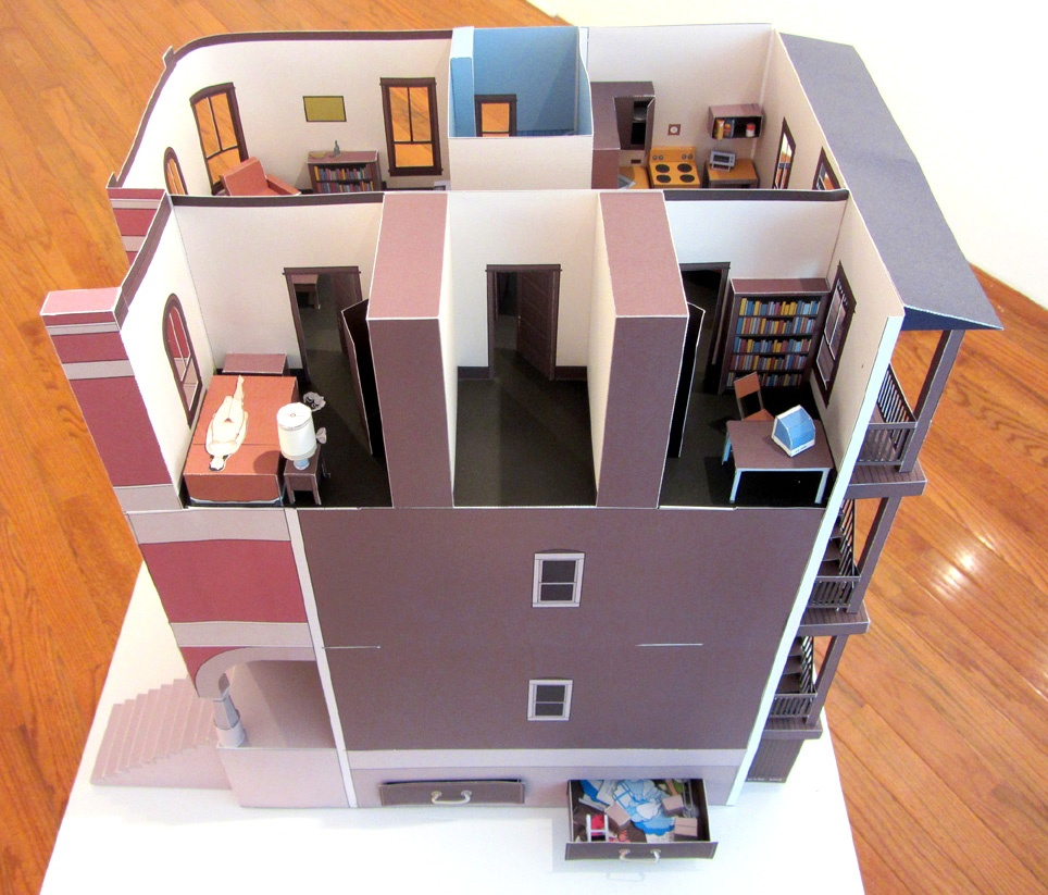 Multi-Story Building Model Print thumbnail 2
