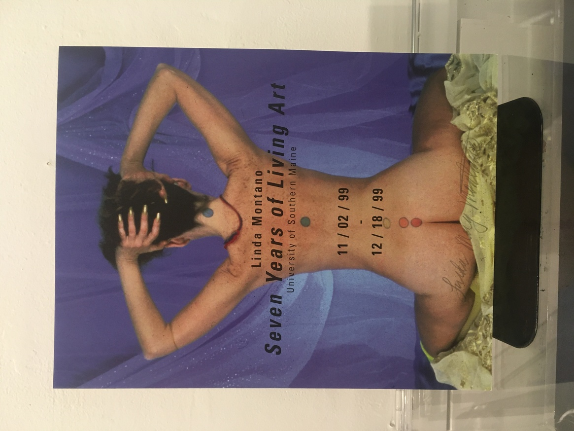 Seven Years of Living Art Performance Exhibition Pamphlet