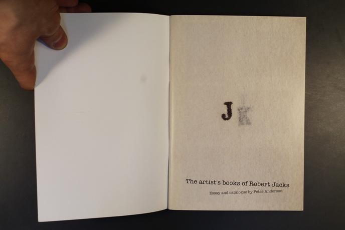 The Artist's Books of Robert Jacks thumbnail 4