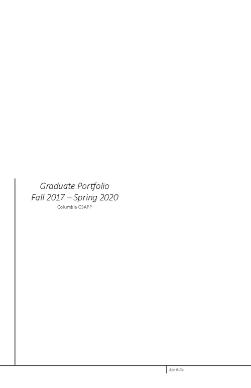 ARCH GillisBen SP20 Portfolio.pdf_P1_cover.jpg