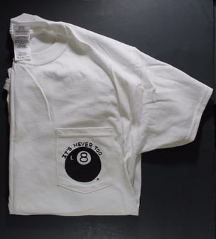 L8 Shirt in White [Small]