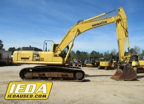 Used 2011 Komatsu PC350 LC-10 For Sale