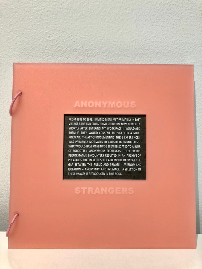 Anonymous Strangers [blush pink]