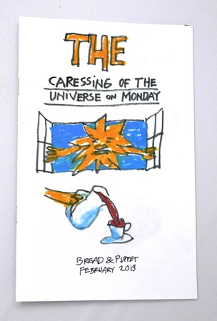 The Caressing of the Universe on Monday