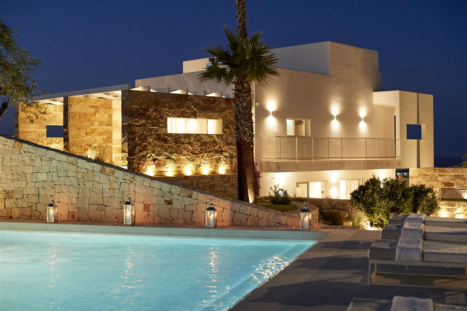 Luxury 3 bedroom villa with pool near Polignano al Mare