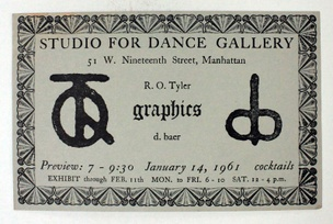 Studio for a Dance Gallery