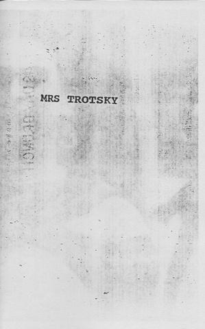 Mrs. Trotsky
