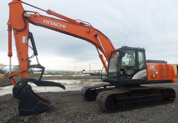 Used 2013 Hitachi ZX210LC-5N For Sale