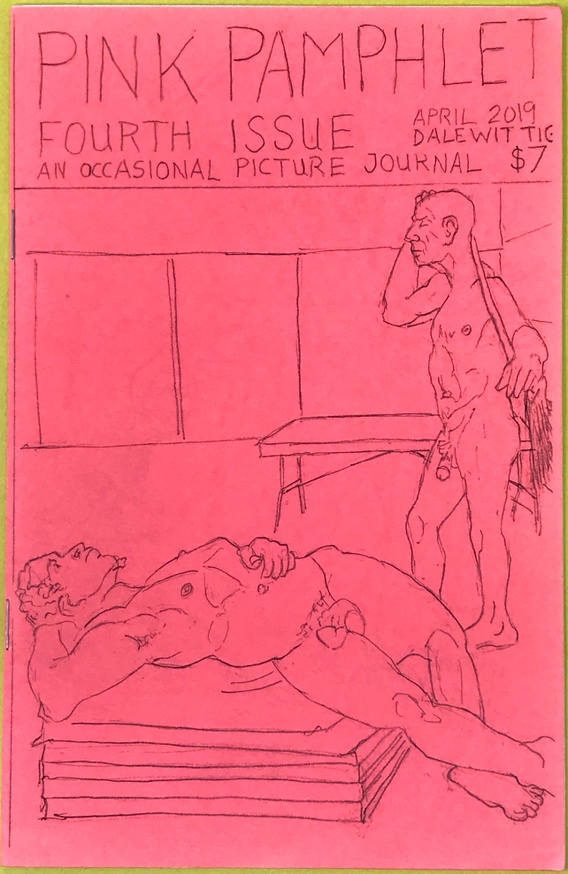 The Pink Pamphlet : An Occassional Picture Journal, Issue 4 (April 2019) thumbnail 1