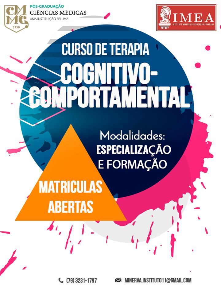 Pós-Graduação em Terapia Cognitivo-Comportamental