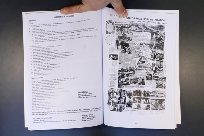 Miriam Sharon's Alternative Museum:  A Book Retrospective 20 Years Art for Peace thumbnail 3