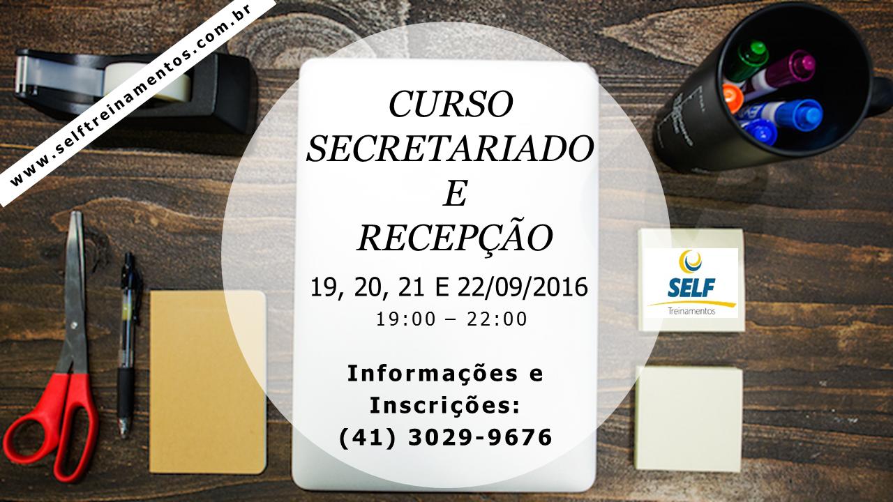 Curso Secretariado e Recepção