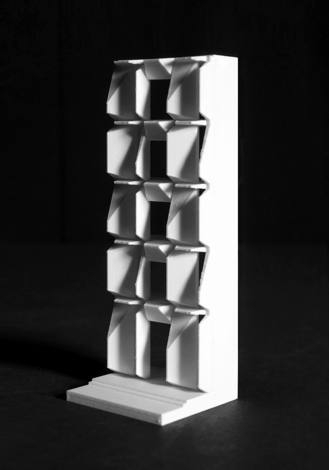 Facade study by Graham Brindle.