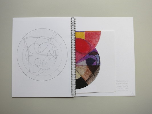 Drawing Hilma Af Klint : A  Coloring Book Influenced by the Work of Hilma Af Klint thumbnail 6