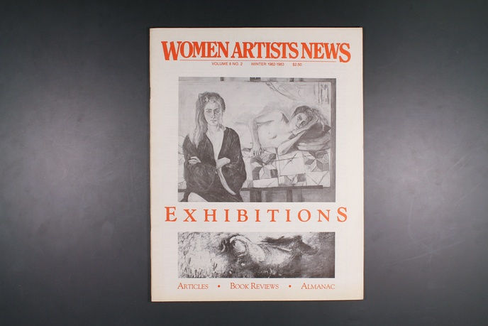 Women Artists News-Various Issues thumbnail 1