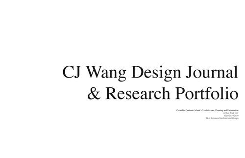 AAD WangCj SP20 Portfolio.pdf_P1_cover.jpg