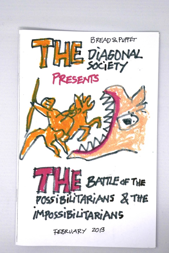The Diagonal Society Presents The Battle of the Possibilitarians & the Impossibilitarians