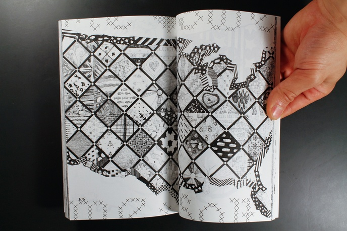 105 Selected Details from the Sharpie Drawings 2003-2006