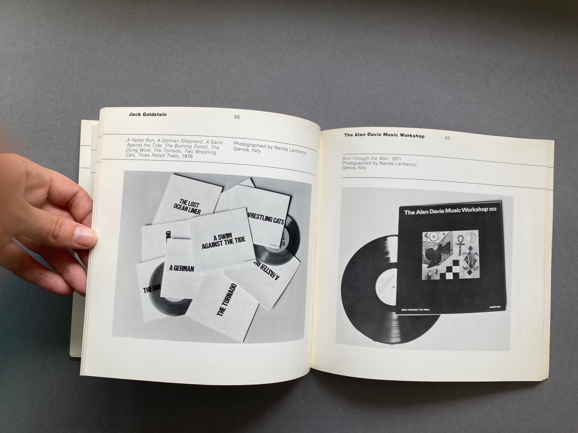 The Record as Artwork from Futurism to Conceptual Art: The Collection of Germano Celant thumbnail 5