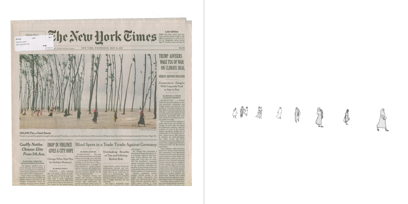 Front Pages with Pictures of Women Walking and Running: The New York Times thumbnail 2