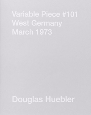 Variable Piece #101 West Germany, March 1973