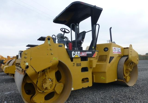 Used 2007 Caterpillar CB-564D For Sale