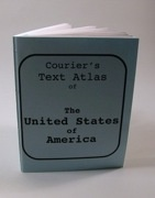 Courier's Text Atlas of The United States of America
