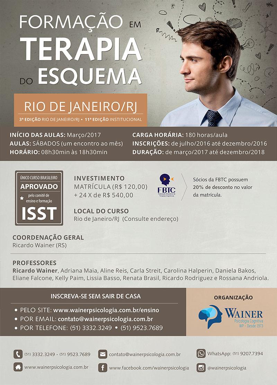 Curso de Formação em Terapia do Esquema - 3ª edição Rio de Janeiro