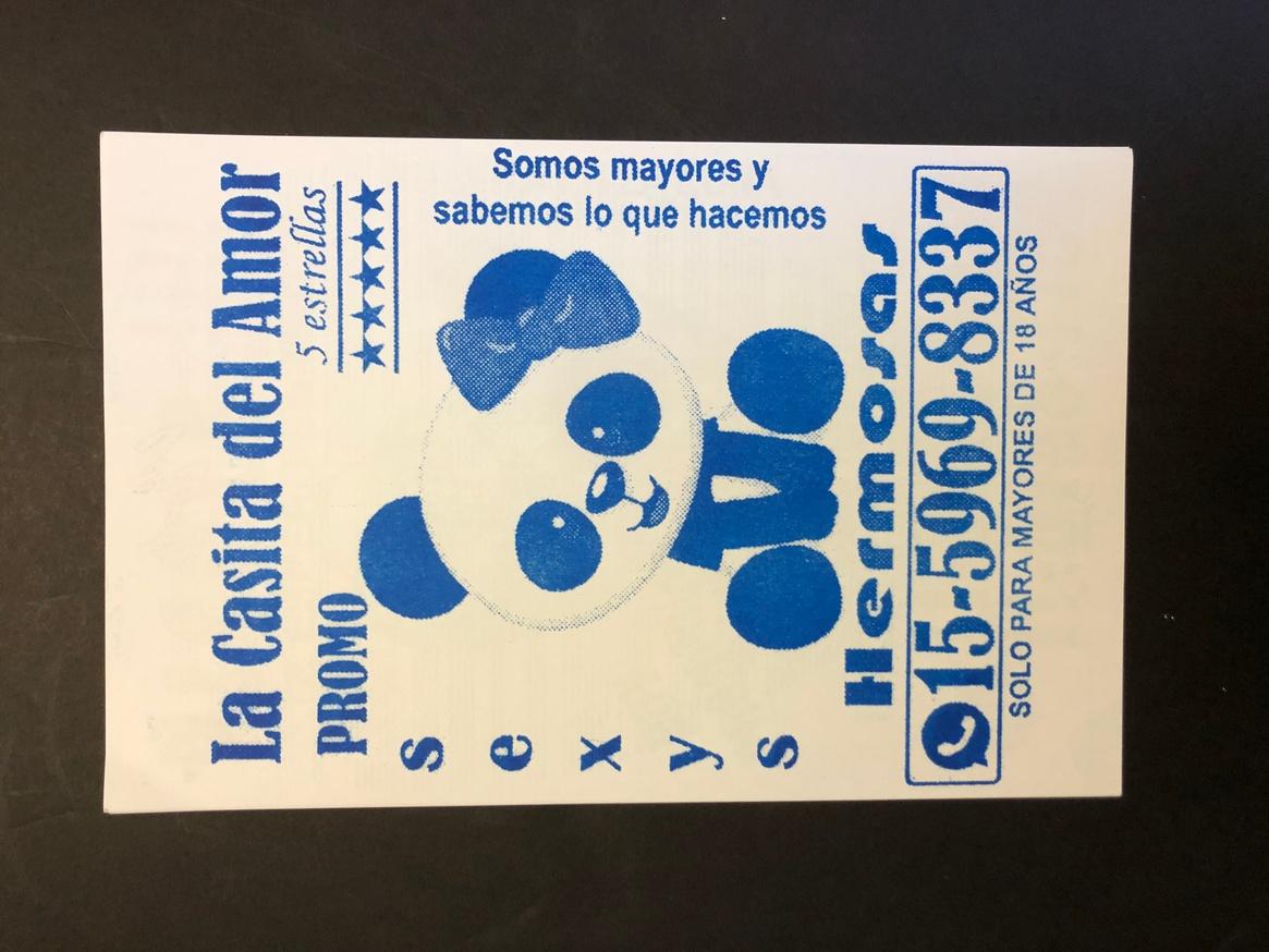 Culo Card (Blue)